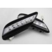 AUTOLAMP DAYTIME RUNNING LIGHTS LED SET FOR TOYOTA CAMRY 2007-09 MNR
