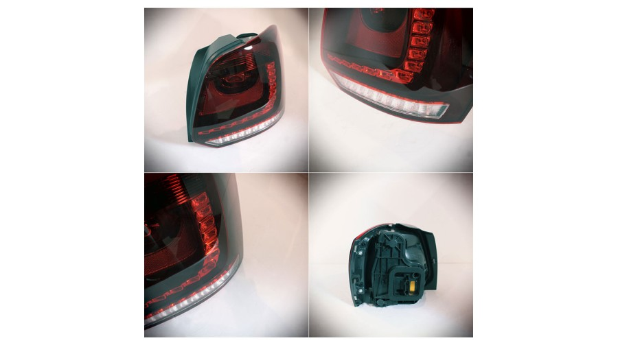 Auto Lamp Volkswagen Polo R Type Led Taillights Set 2014 15