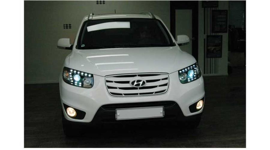 Auto Lamp Hyundai Santa Fe Cm The Style Audi Q7 Style