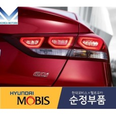 MOBIS LED TAIL COMBINATION LAMP SET FOR HYUNDAI AVANTE AD / ELANTRA 2015-18 MNR