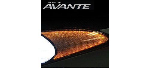 EXLED HYUNDAI AVANTE MD / ELANTRA MD - FRONT REFLECTOR LED MODULES KIT