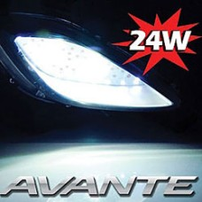 EXLED FOG LAMP 24W POWER LED MODULES SET FOR HYUNDAI ELANTRA / AVANTE MD 2010-13 MNR