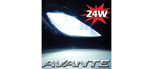 EXLED HYUNDAI AVANTE MD - FOG LAMP 24W POWER LED MODULES SET