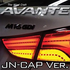 EXLED HYUNDAI AVANTE MD - LED TAIL LAMP MODULES+COVER SET (JN-CAP VER.)