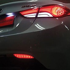 EXLED HYUNDAI AVANTE MD - REAR BUMPER LED REFLECTOR MODULES DIY KIT
