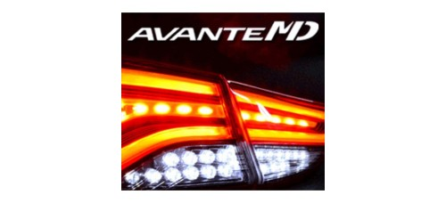 EXLED HYUNDAI NEW AVANTE MD - REAR TURN-SIGNAL & BACKUP LIGHTS LED MODULES (SH-BLOCK)