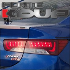 EXLED KIA FORTE KOUP - PANEL LIGHTING POWER LED BRAKE MODULES SET (BULB TYPE)