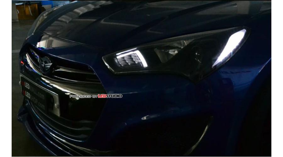 Exled Hyundai New Genesis Coupe Front Turn Signal 2way
