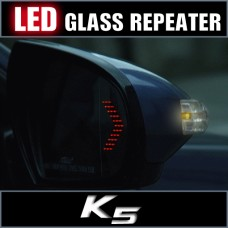 KABIS LED MIRROR GLASS REPEATER FOR KIA K5 / OPTIMA 2010-14 MNR
