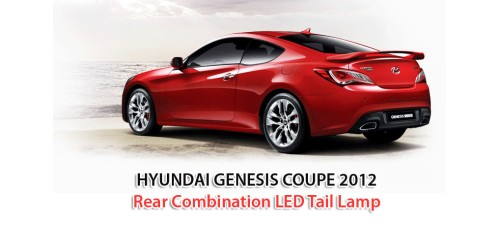 MOBIS REAR COMBINATION LED TAIL LAMP  FOR HYUNDAI GENESIS COUPE 2012-15 MNR