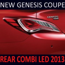 MOBIS REAR COMBINATION LED TAIL LAMP SET FOR HYUNDAI NEW GENESIS COUPE 2010-13 MNR