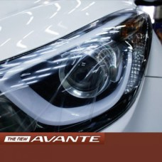 MOBIS LED PROJECTION HEADLIGHTS ASSAY FOR HYUNDAI NEW AVANTE MD / ELANTRA 2010-15 MNR