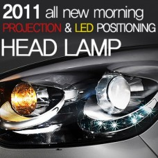 MOBIS PROJECTION & LED HEADLIGHTS FOR KIA ALL NEW MORNING 2011-13 MNR