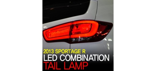 MOBIS - REAR COMBINATION LED TAIL LAMP FOR KIA NEW SPORTAGE R 2014-15 MNR