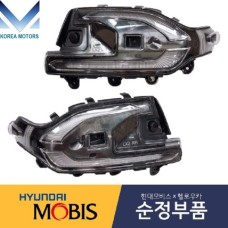 MOBIS FACE SIDE MIRROR LED REPEATER LAMP MODULE SET FOR HYUNDAI PALISADE 2018/12-21 MNR