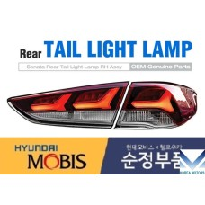 MOBIS LED TAIL COMBINATION LAMP SET FOR HYUNDAI SONATA NEW LF 2017-19 MNR