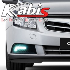 KABIS LED DAYTIME RUNNING LIGHTS SET FOR GM-DAEWOO LACETTI CRUZE 2009-12 MNR