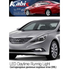 KABIS LED DAYTIME RUNNING LIGHTS SET FOR HYUNDAI YF SONATA 2009-13 MNR
