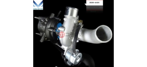 MOBIS NEW TURBOCHARGER 282004A361 ASSY FOR ENGINE DIESEL HYUNDAI KIA 2004-11 MNR