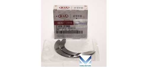 NEW BEARING PAIR SET-CRK/SHF CTR FOR DIESEL ENGINE D4HB FROM MOBIS FOR HYUNDAI KIA 2010-17 MNR