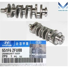 NEW CRANKSHAFT ASSY FOR DIESEL ENGINE D4HB FROM MOBIS  FOR VEHICLES 2012-15 MNR