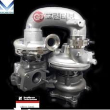 MOBIS NEW TURBOCHARGER 2821052030 ASSY FOR ENGINE DIESEL HYUNDAI KIA 2010-21 MNR