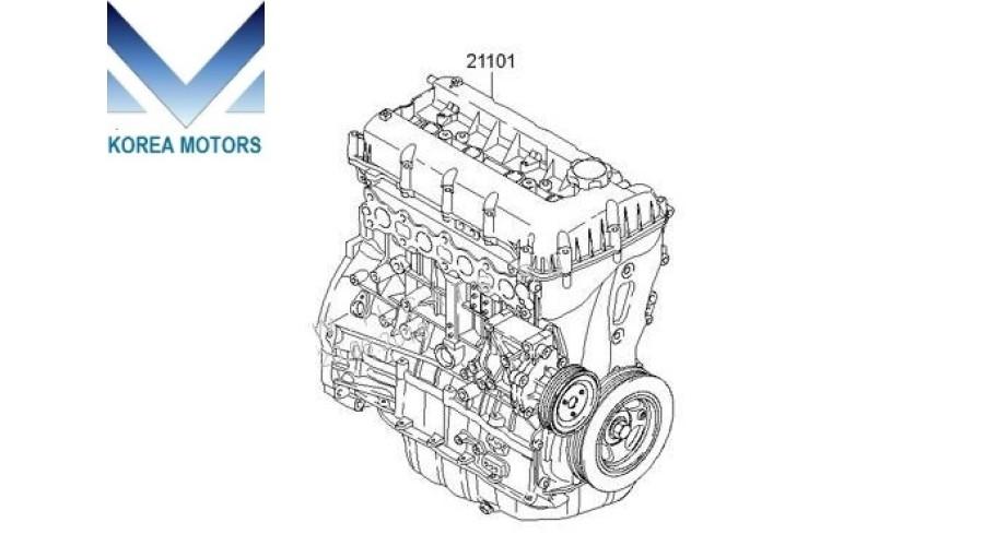 used engine gasoline g4ke complete for vehicles kia hyundai 2006