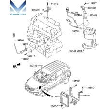 MOBIS ELECTRONIC CONTROL UNIT SET-ASSY FOR KIA SPORTAGE 2010-13 MNR