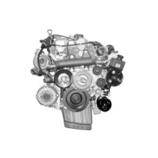 NEW ENGINE DIESEL D27DT SET ASSY-SUB 4WD EURO-3 FOR SSANG YONG REXTON / KYRON 2006-08 MNR
