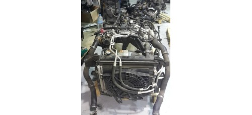 USED ENGINE AND TRANSMISSION DIESEL A2 D4CB EURO-5 ASSY SET COMPLETE MOBIS FOR 2012-16 MNR