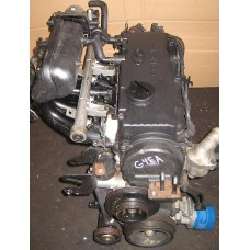 USED ENGINE GASOLINE G4EA EURO-3-4 ASSY-COMPLETE FOR HYUNDAI KIA 1995-05 MNR