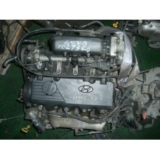 USED ENGINE COMPLETE GASOLINE G4EB  EURO-3-4 ASSY-SUB SET FROM MOBIS 2000-2006 MNR