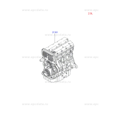 NEW ENGINE DIESEL J3 EURO-4 VGT FOR VIHICLES KIA HYUNDAI 2007-11 MNR