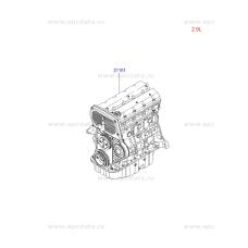 NEW ENGINE DIESEL J3 EURO-4 VGT FOR VIHICLES KIA HYUNDAI 2007-11 MNR