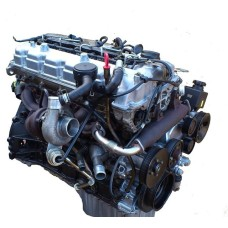 USED ENGINE DIESEL D27DT SET EURO-3-4 ASSY-SUB SET COMPLETE SET FOR SSANG YONG 2005-08 MNR