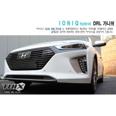 TUIX FRONT GARNISH DRL LWR KIT FOR HYUNDAI IONIQ HYBRID 2016-17 MNR