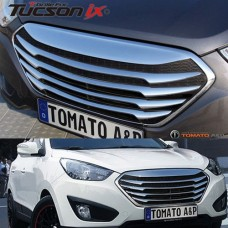 TOMATO FRONT GRILL FOR RADIATOR HYUNDAI IX35 2014-15 MNR