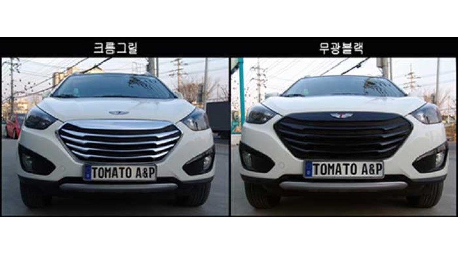 Tomato Front T Grill For Radiator Hyundai Ix35 2014 15 Mnr