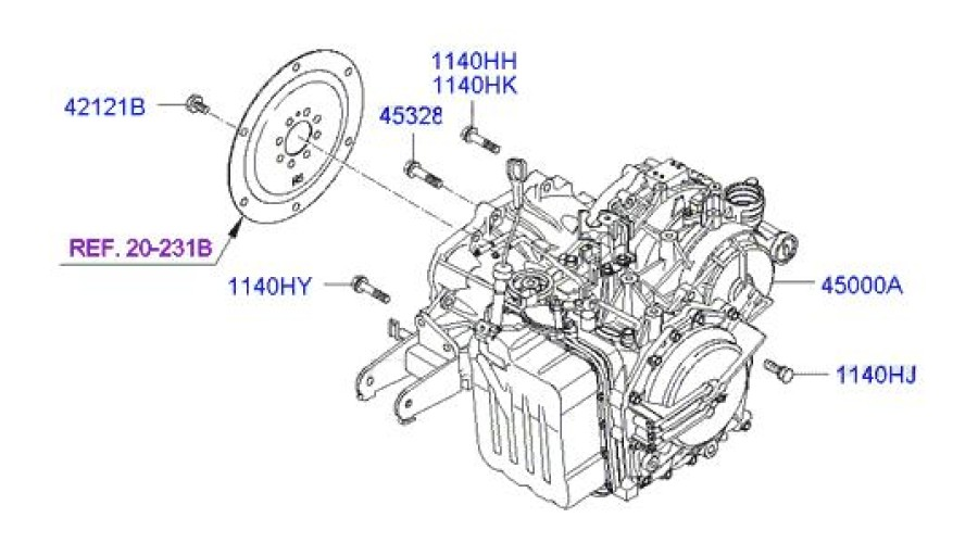 Hyundai Santa Fe Transmission Diagram Wiring Diagram