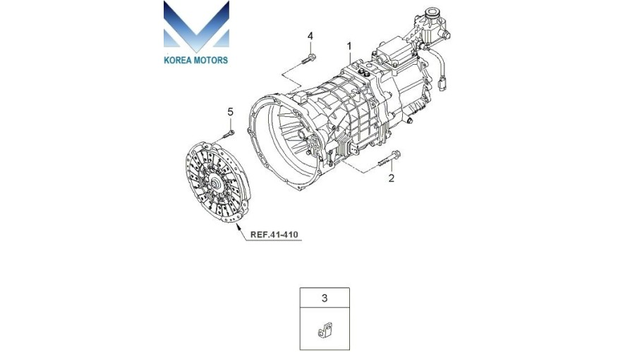 mobis used transmission assy