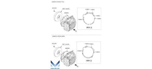 NEW TRANSMISSION ASSY-ATA 2WD / 4WD SET FOR KIA SORENTO R 2009-12 MNR