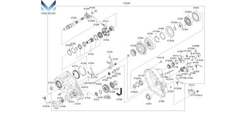 NEW TRANSFER ASSY-ATA 4WD SET FOR KIA SORENTO 2002–10 MNR