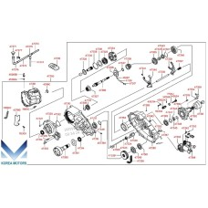 NEW TRANSFER ASSY-ATA 4WD SET FOR HYUNDAI STAREX 1996-01 MNR