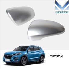 TUIX SILVER SIDE MIRROR COVER KIT FOR HYUNDAI TUCSON 2018 - 20 MNR