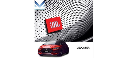TUIX JBL STEREO UPGRADE SOUND PACKAGE FOR HYUNDAI VELOSTER JS 2018-20 MNR