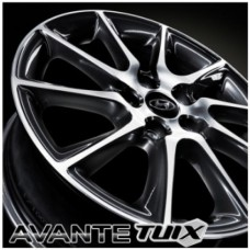 "TUIX 17"" DARK GRAY ALLOY WHEELS FOR  HYUNDAI AVANTE MD / ELANTRA 2010-2015 MNR"