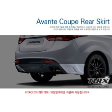 TUIX REAR SKIRT SET FOR HYUNDAI AVANTE / ELANTRA COUPE 2013-15 MNR