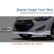 TUIX FRONT SKIRT SET FOR  HYUNDAI AVANTE / ELANTRA COUPE 2013-15 MNR