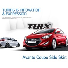 TUIX SIDE SKIRT SET FOR HYUNDAI AVANTE / ELANTRA COUPE 2013-15 MNR