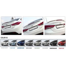 TUIX LED TRUNK LID SPOILER SET for Hyundai Avante MD / Elantra 2010-15 MNR